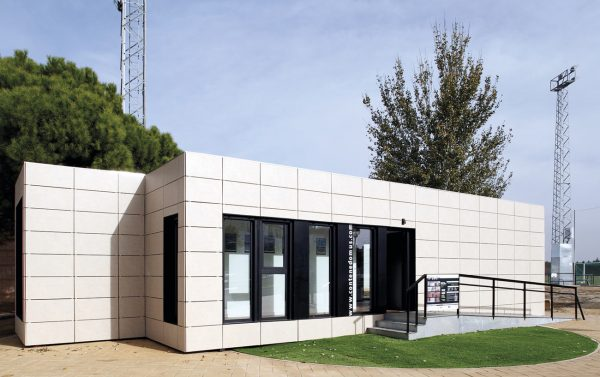 Prototipo Contenedomus de viviendas modulares